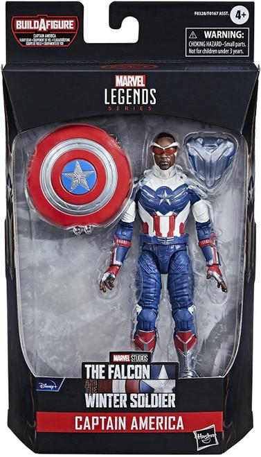 The Falcon and the Winter Soldier Marvel Legends Captain America Flight Gear Series Captain America Action Figure [Disney Plus] (Pre-Order ships June)