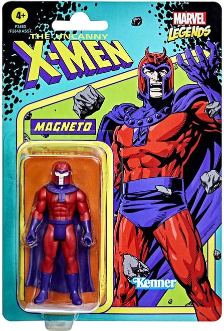 The Uncanny X-Men 2021 Marvel Legends Retro Collection Wave 1 Magneto Action Figure
