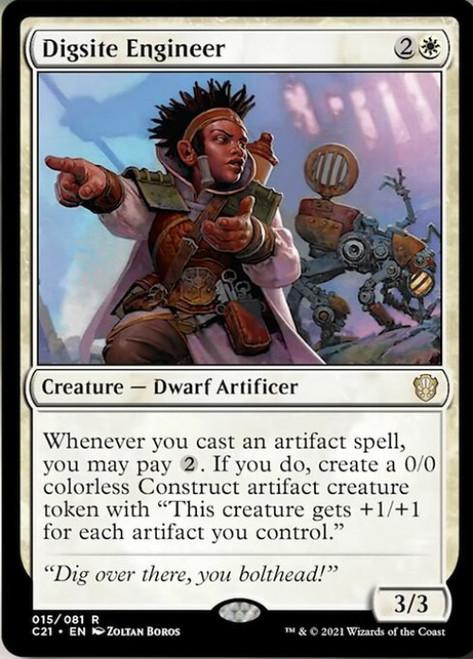 MtG Commander 2021 Rare Digsite Engineer #15