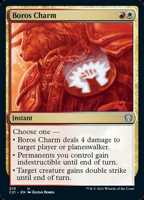 MtG Commander 2021 Uncommon Boros Charm #210