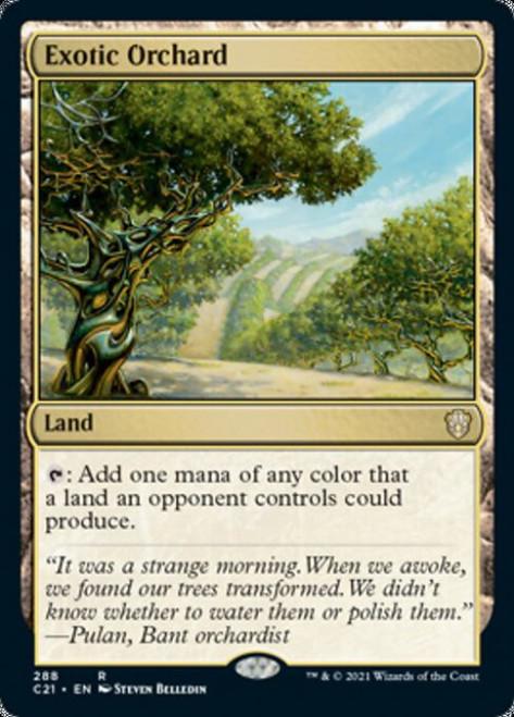 MtG Commander 2021 Rare Exotic Orchard #288