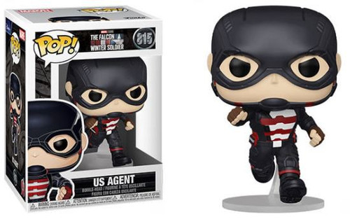 Funko The Falcon and the Winter Soldier POP! Marvel US Agent Vinyl Bobble Head #815 (Pre-Order ships October)