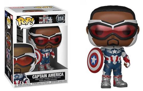 Funko The Falcon and the Winter Soldier POP! Marvel Captain America Vinyl Bobble Head #814 [Sam Wilson] (Pre-Order ships October)