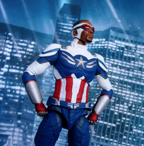 The Falcon and the Winter Soldier Marvel Select Captain America Exclusive Action Figure [Sam Wilson, Collector Edition, Disney Plus] (Pre-Order ships September)