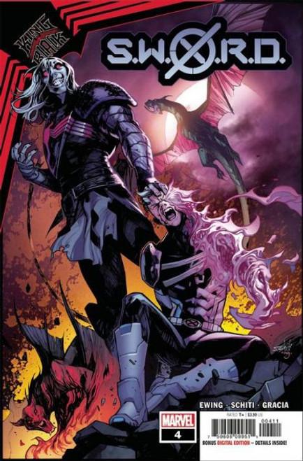 Marvel S.W.O.R.D., Vol. 2 #4A Comic Book