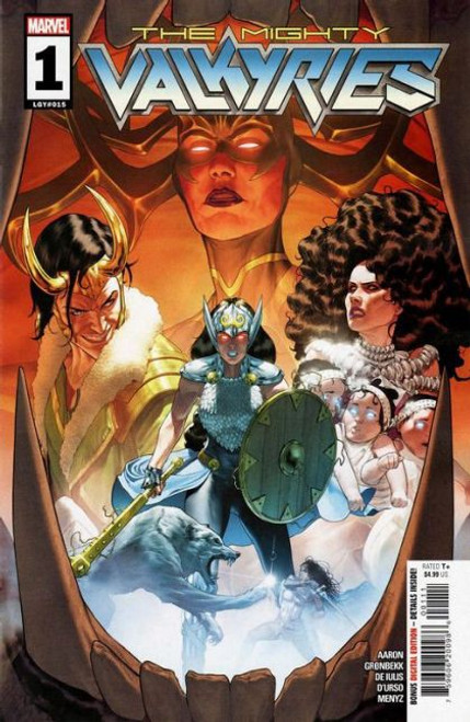 Marvel The Mighty Valkyries #1A Comic Book