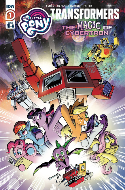 IDW Transformers & My Little Pony II #1 of 4 Magic of Cybertron Comic Book [Price Incentive Variant Cover]