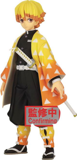 Demon Slayer: Kimetsu no Yaiba Grandista Zenitsu Agatsuma 9.5-Inch Collectible PVC Figure (Pre-Order ships December)