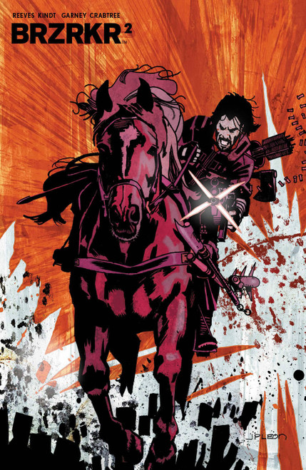 Boom! Studios Brzrkr #2 Comic Book [Leon Variant]