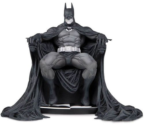 Black & White Batman 7.2-Inch Statue [Marc Silvestri, Damaged Package]