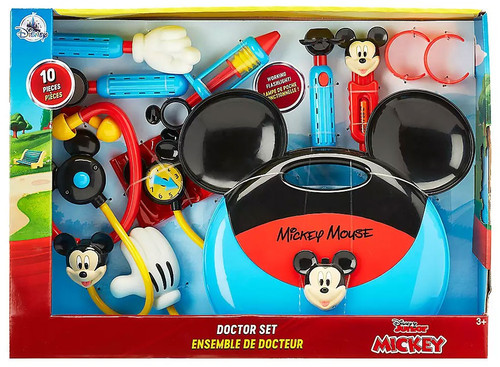 Disney Mickey Mouse Doctor Set Exclusive Playset [2019, Damaged Package]