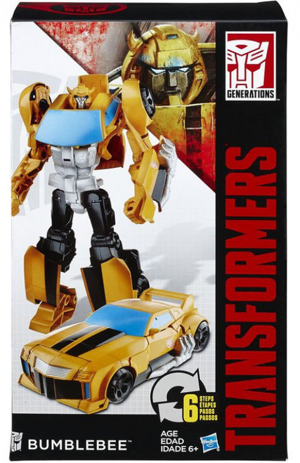 """Transformers Generations Cyber Commander Bumblebee 11"""" Action Figure [Damaged Package]"""