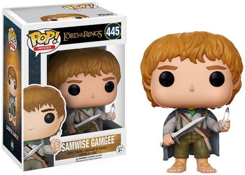 Funko Lord of the Rings POP! Movies Samwise Gamgee Vinyl Figure #445 [Damaged Package]