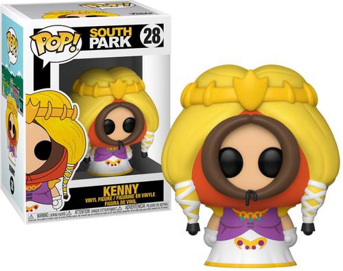 Funko South Park POP! Animation Princess Kenny Vinyl Figure #28 [Damaged Package]