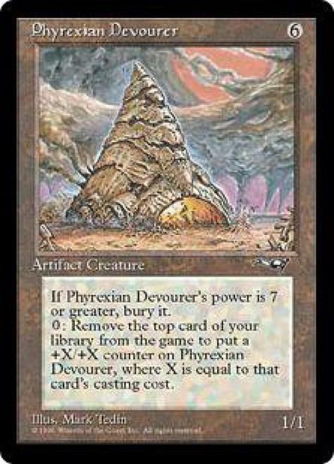 MtG Alliances Rare Phyrexian Devourer