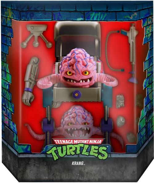 Teenage Mutant Ninja Turtles Ultimates Wave 5 Krang Action Figure (Pre-Order ships October)