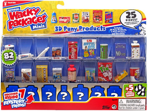 Wacky Packages Minis Series 2 25-Pack