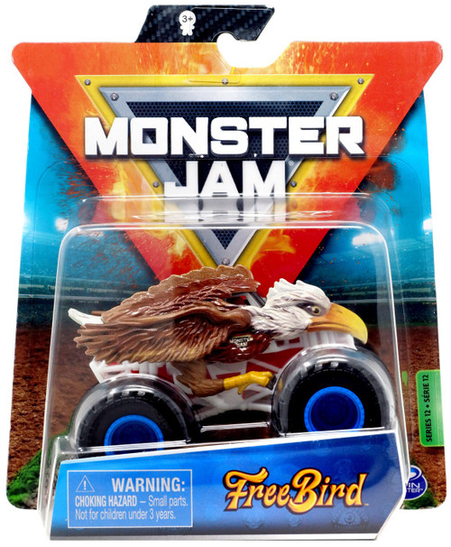 Monster Jam Series 12 Free Bird Diecast Car