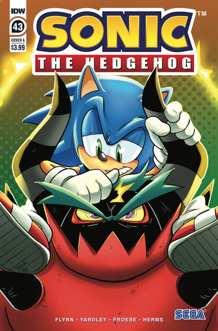 IDW Sonic The Hedgehog #43 Comic Book [Cover A Rothlisberger]