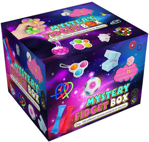 Kid Focus 21 Fidget Surprises Inside! Mystery Box (Pre-Order ships June)