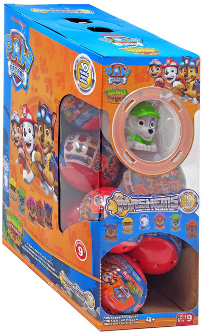 Paw Patrol Mash'Ems Series 9 Dino Rescue Mystery Box [20 Packs]