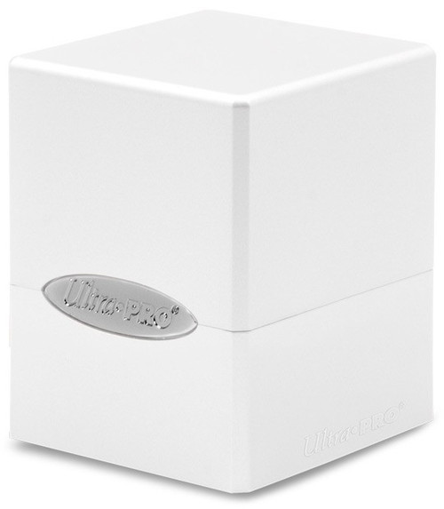 Ultra Pro Card Supplies Satin Cube Arctic White Deck Box