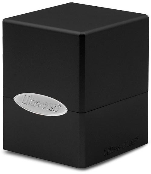 Ultra Pro Card Supplies Satin Cube Jet Black Deck Box
