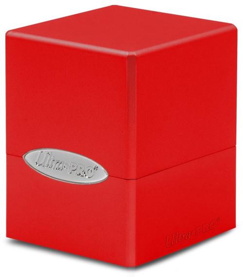 Ultra Pro Card Supplies Satin Cube Apple Red Deck Box