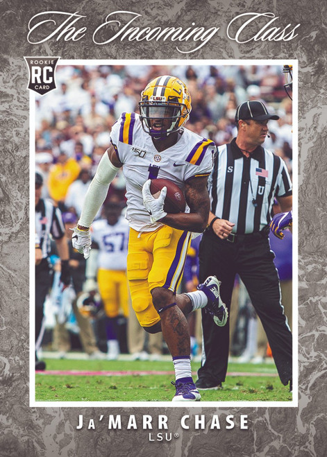 NFL 2021 Instant The Incoming Class Football Ja'Marr Chase Trading Card [Rookie Card]
