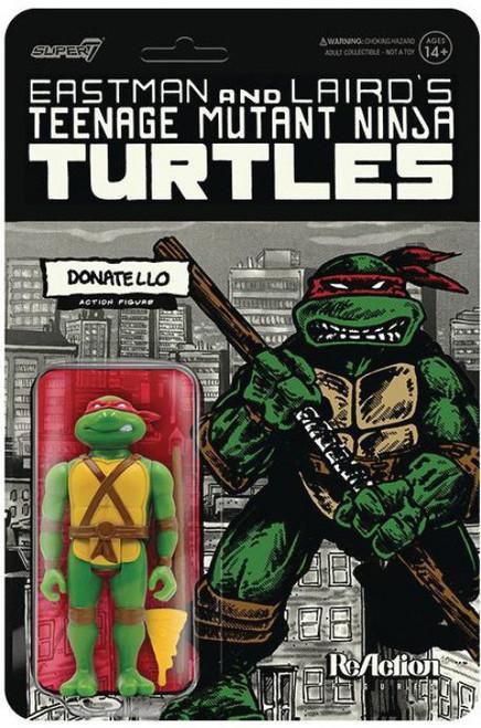 ReAction Teenage Mutant Ninja Turtles Donatello Action Figure [Mirage Variant]