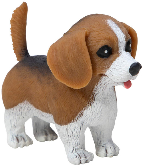 Pocket Pups Series 1 Beagle 4-Inch Squeeze Toy