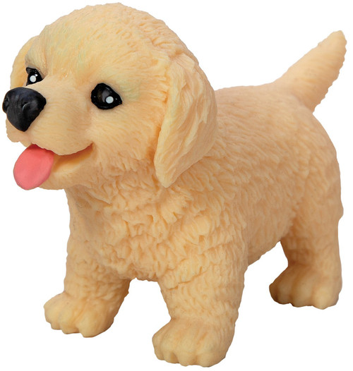 Pocket Pups Series 2 Golden Retriever 4-Inch Squeeze Toy