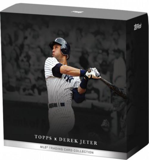 """MLB Topps X 2021 Derek Jeter """"Captain's Crew"""" Trading Card Pack [10 Cards]"""