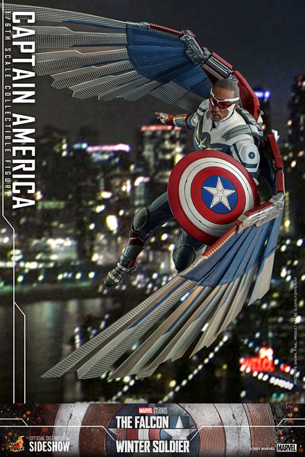 Marvel The Falcon and the Winter Soldier Movie Masterpiece Captain America Collectible Figure [Falcon and The Winter Solider] (Pre-Order ships October 2022)