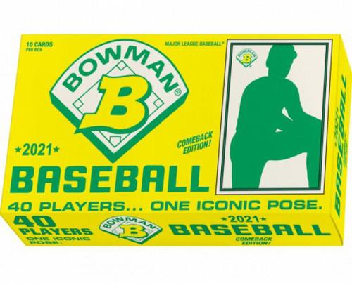 MLB 1989 (2021) Bowman x Keith Shore Baseball Wave 1 Trading Card Pack [10 Cards] (Pre-Order ships June)