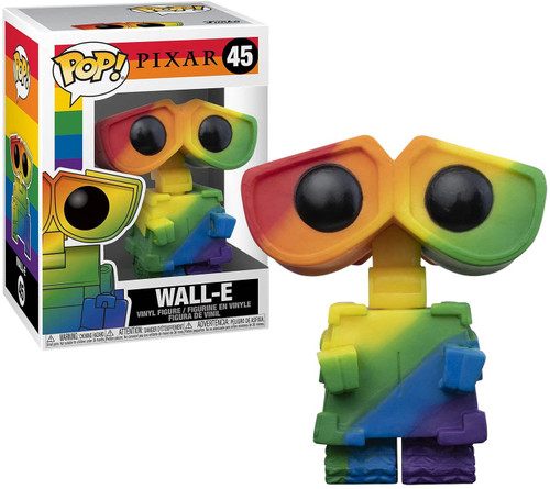 Funko Disney Pride POP! Wall-E Vinyl Figure #45 [Rainbow] (Pre-Order ships June)