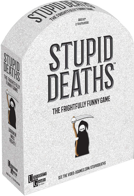 Stupid Deaths Party Board Game