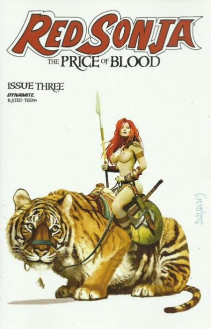 Dynamite Entertainment Red Sonja: The Price of Blood #3A Comic Book