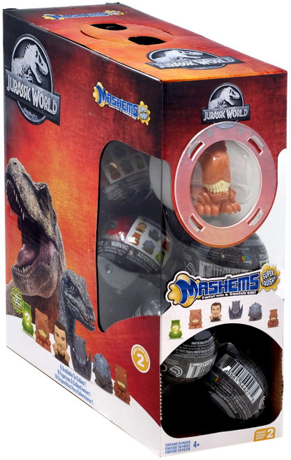Jurassic World Mash'Ems Series 2 Mystery Box [20 Packs]