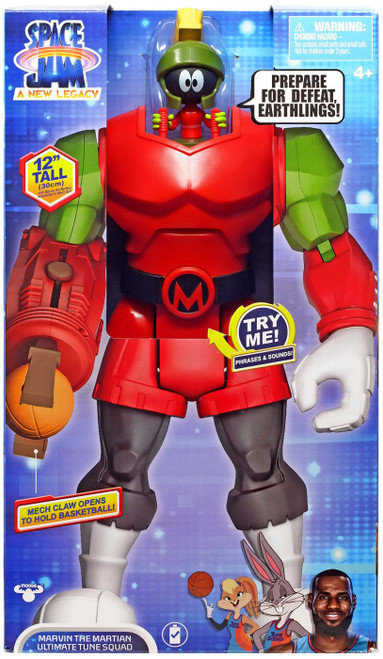 Space Jam: A New Legacy Ultimate Tune Squad Marvin the Martian Action Figure