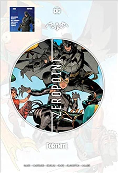 DC Comics Batman / Fortnite Zero Point HARDCOVER [Comes with 7 DC Themed Digital Item Codes for Fortnite Game!] (Pre-Order ships September)