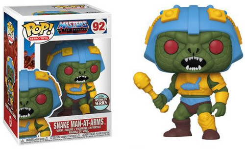 Funko Masters of the Universe POP! Retro Toys Snake Man-At-Arms Exclusive Vinyl Figure #92 [Specialty Series] (Pre-Order ships August)