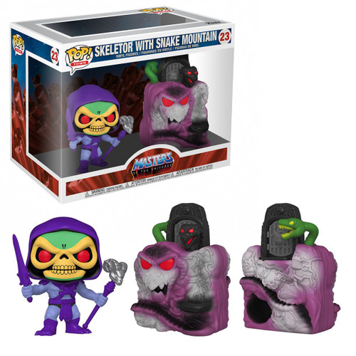 Funko Masters of the Universe POP! Town Skeletor with Snake Mountain Vinyl Figure #23 (Pre-Order ships July)