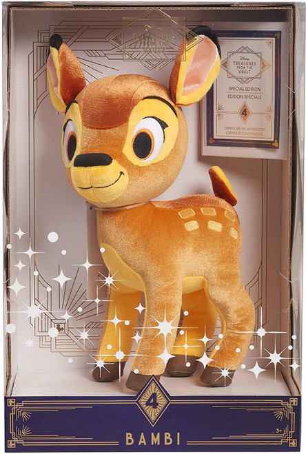 Disney Treasures from the Vault Bambi Exclusive 14-Inch Plush