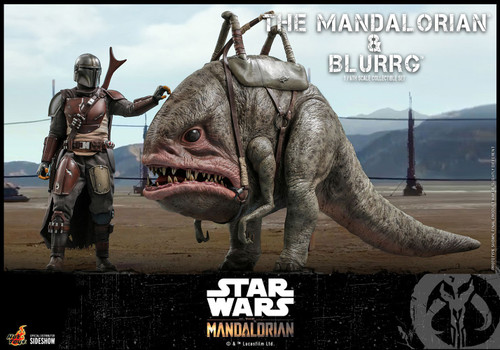 Star Wars The Mandalorian & Blurrg Collectible Figure (Pre-Order ships June 2022)