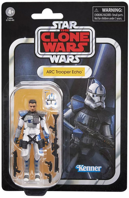 Star Wars The Clone Wars 2020 Vintage Collection Wave 7 ARC Trooper Echo Action Figure (Pre-Order ships July)