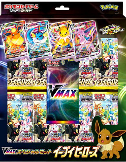 Pokemon Trading Card Game Sword & Shield VMAX Eevee Heroes Special Set [Japanese] (Pre-Order ships July)
