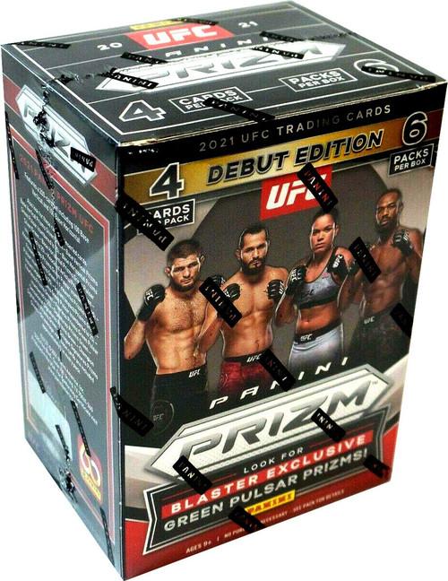 Panini 2021 Prizm UFC Debut Edition Trading Card BLASTER Box [6 Packs]