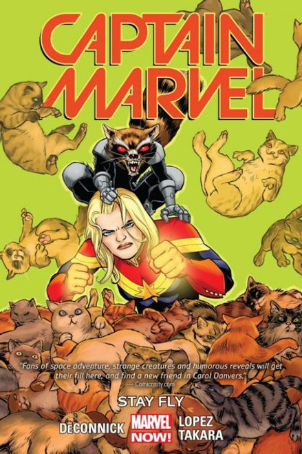 Captain Marvel Stay Fly Trade Paperback #2