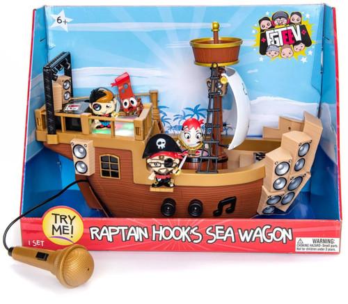 FGTeeV Raptain Hooks Sea Wagon Playset